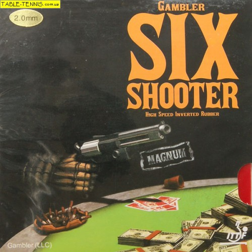 GAMBLER Six Shooter Magnum