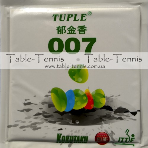 KOKUTAKU Tuple 007 Factory Tuned – Накладка для настольного тенниса
