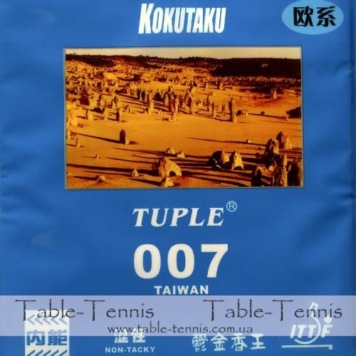 KOKUTAKU Tuple 007 Taiwan non-tacky Накладка для настольного тенниса